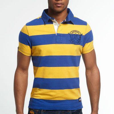 Superdry極度乾燥しなさい VINTAGE VALIANT RUGBY SHIRT ポロシャツ 総柄、原色のアイテムを使うこともタッキースタイルの1つです。原色×原色をコーディネートに取り入れたりするだけで、一気に今年らしいトレンドのスタイルになります。