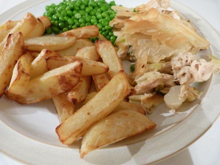 Slimming world chicken and leek pie