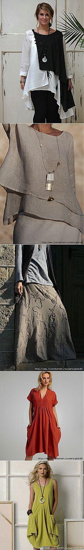 В стиле Бохо... Вдохновляемся! ...... I adore the top in the 2nd photo... classy, comfortable and stylish.... perfect!