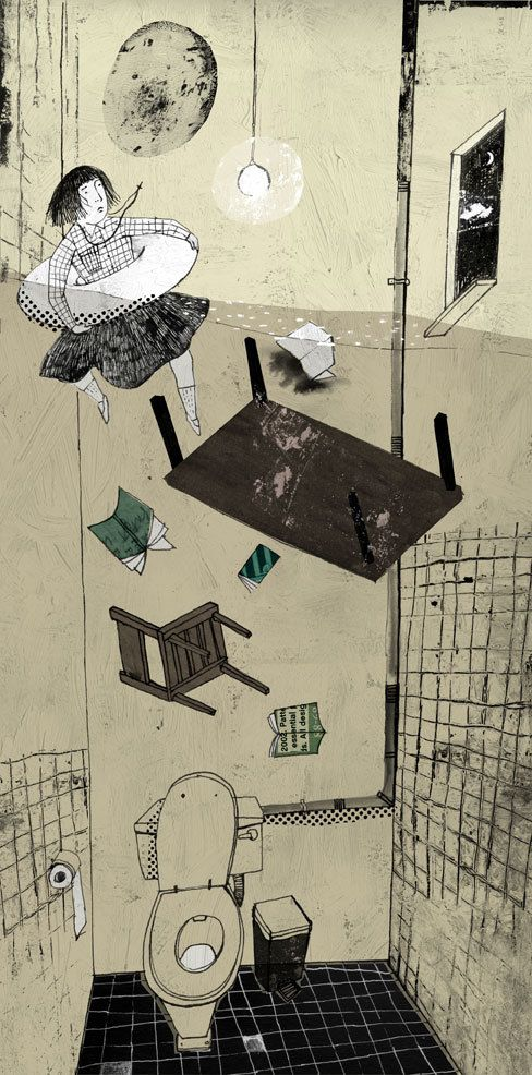 Illustrations for newspaper by Chia-Chi Yu, via Behance. What do you think of it?