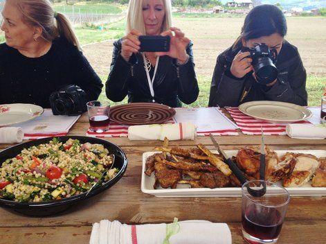 souvenir of our evening - An Okanagan farm-to-table al fresco dining experience | Devour and Conquer
