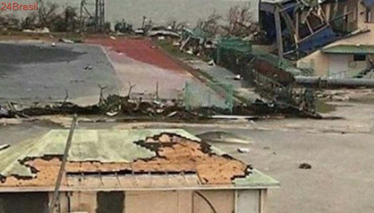 Irma destruiu quase um terço dos prédios de Saint Martin, diz Cruz Vermelha holandesa