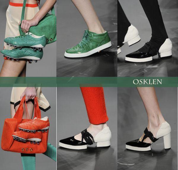 Sapatos Osklen - Inverno 2014  http://blogdesapato.wordpress.com/2013/10/31/sapatos-da-spfw-outonoinverno-2014-primeiros-desfiles/