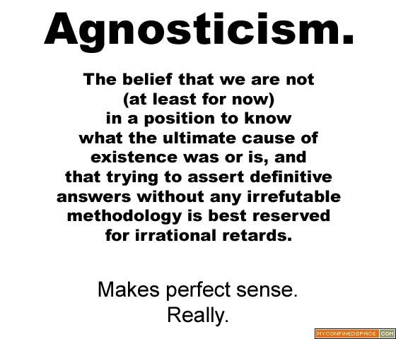: Bobs Haircuts, Agnostic Atheist, Religion Philosophy, Agnostic Pictures, Funny Stuff, Agnostic Atheism, Perfect Sen, Agnostic Image, Agnostic Quotes