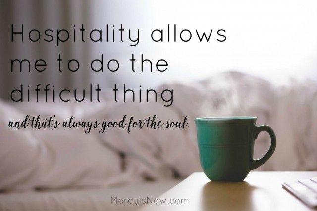 hospitality allows