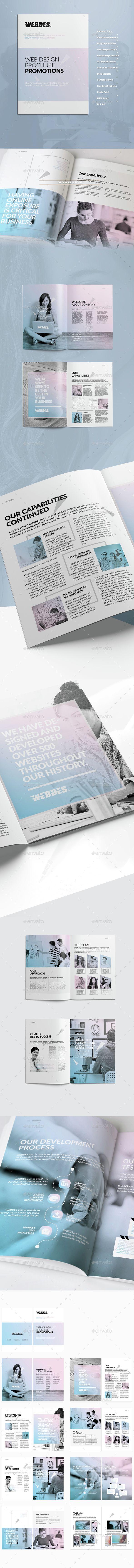 Web Design Brochure a4, brand, brief, brochure design, business, business…
