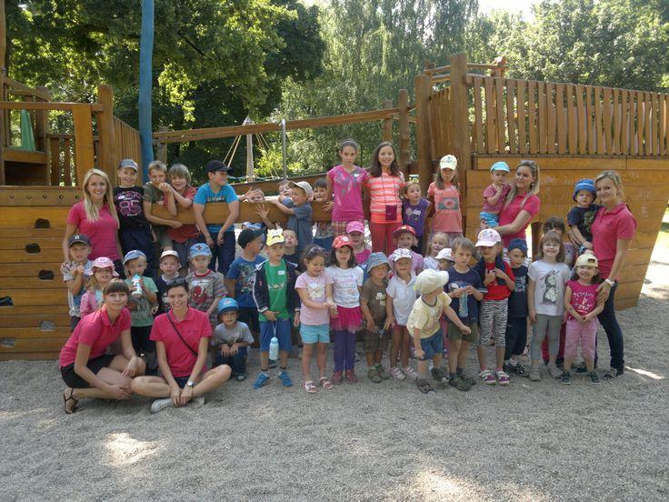 Skupinové foto z tábora