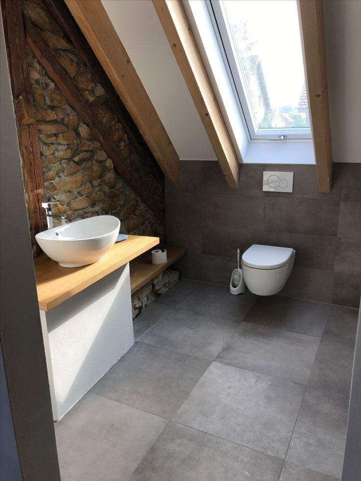 Sanierung Scheune Bad Bruchstein Badezimmer Dachfe…