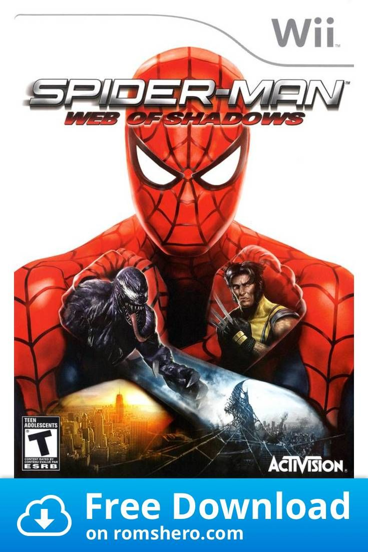 Download Spider Man Web Of Shadows Nintendo Wii Wii Isos Rom