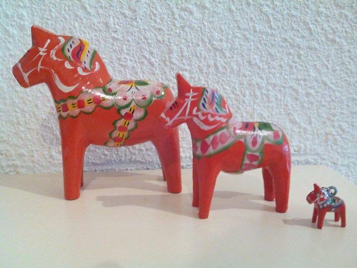 Vintage Dala-horses