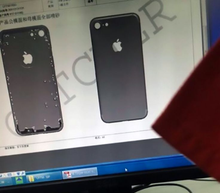 Alleged Leaked iPhone 7 Images Reveal New Case Design