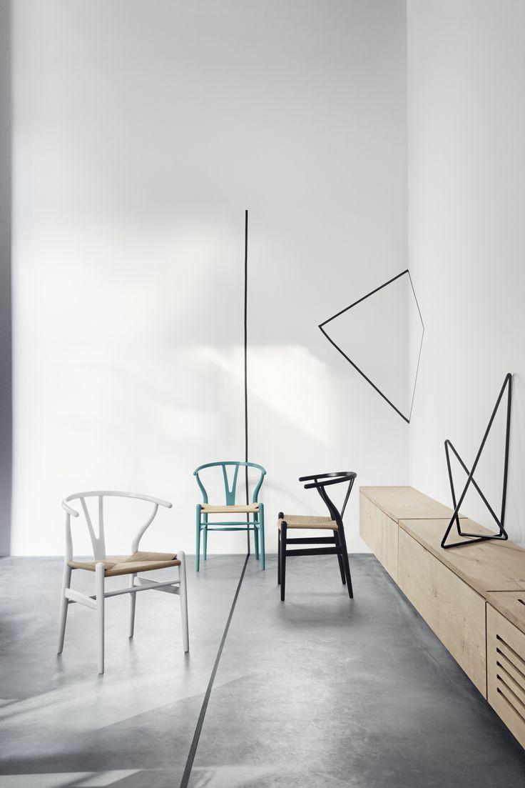The Wishbone Chair, designed by Wegner