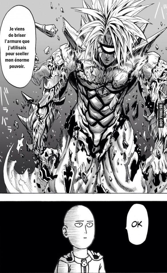 Parce que le héros de One Punch Man est épique