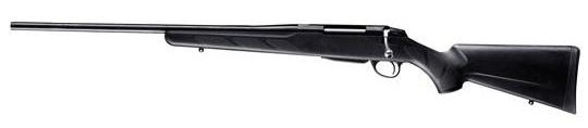 A Third Great gun for Lefties!  The Tikka T3 Lite Stainless    Maybe these standard, classic hunting guns aren't for you. You've had enough of the warmth of natural materials, like wood. You are, after-all, a modern left handed shooter. You prefer to eat your venison off of a table bought at IKEA, not Ethan Allen.
