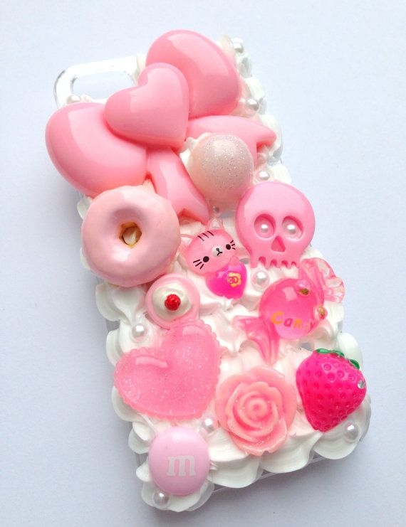 ... , Phone Cases, Cell Cases, Bows Flower, Kawaii Kawaii, Cat Skull