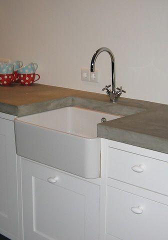 Arbeitsplatte Béton Object Gegossen aus faserverstärktem Beton - küchenarbeitsplatte aus beton
