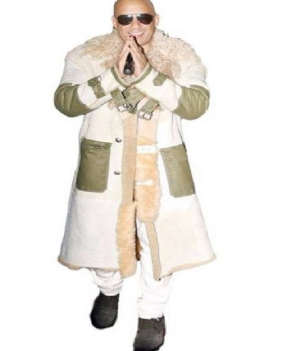 xXx Mumbai Movie Premiere Vin Diesel Coat