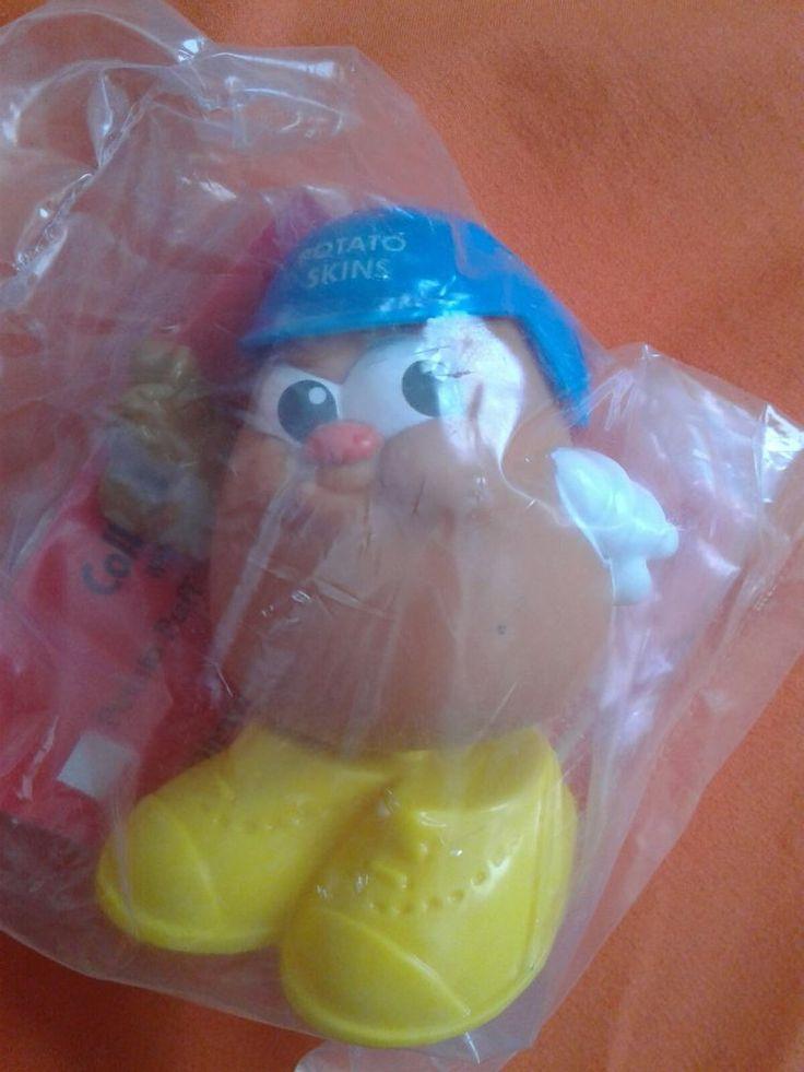 1992 Hasbro Playskool Potato Kids McDonalds Happy Meal Toy - Slugger (sealed) #McDonalds