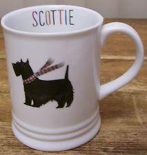 Scottish Terrier Scottie Black Dog Coffee Mug Cup Frindge