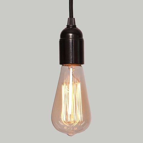 Lampa Bakelit