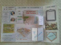 Histoire, lapbook sur les Gallo-romains (antiquité) pdf :)