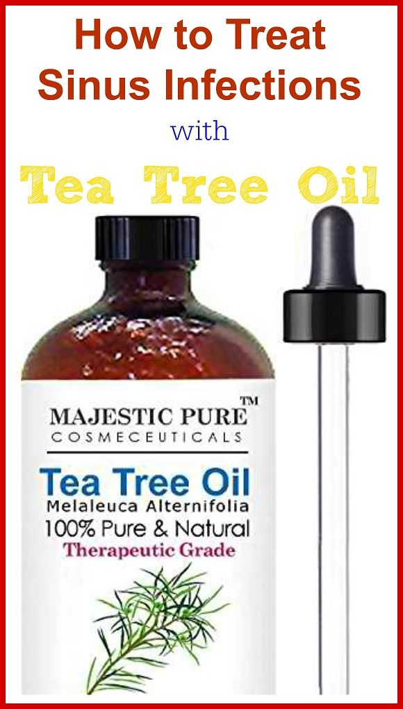 Simple way to help Treat Sinus Infections with Tea Tree Oil,
