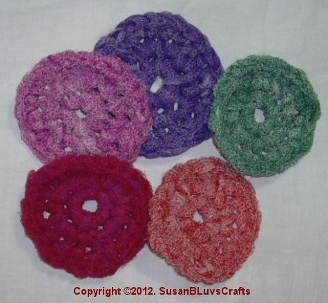 Free Crochet Patterns For Nylon Net Scrubbies : 17 Best images about Scrubbies on Pinterest Homemade ...