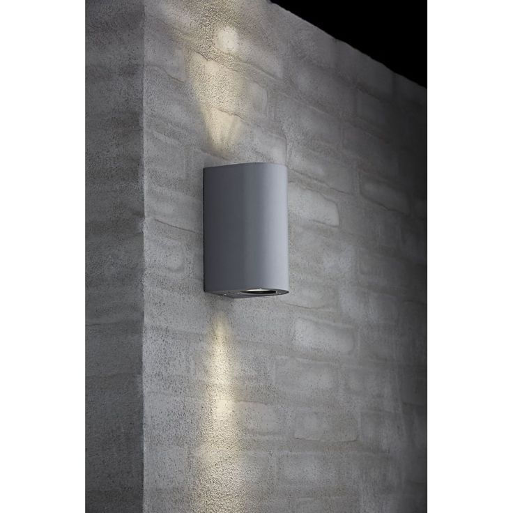 Nordlux 77561010 Canto Maxi Exterior Wall Light in Grey Finish | Arrow Electrical