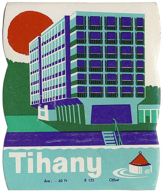 Tihany by Art of the Luggage Label, via Flickr