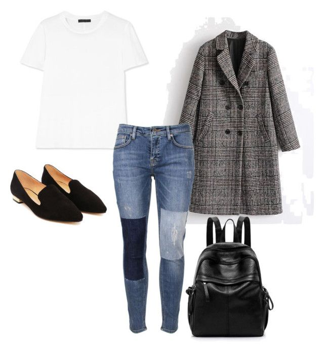 Sin título #12 by vanessa-fuentes-salas on Polyvore featuring moda, The Row, Victoria, Victoria Beckham and Nasty Gal