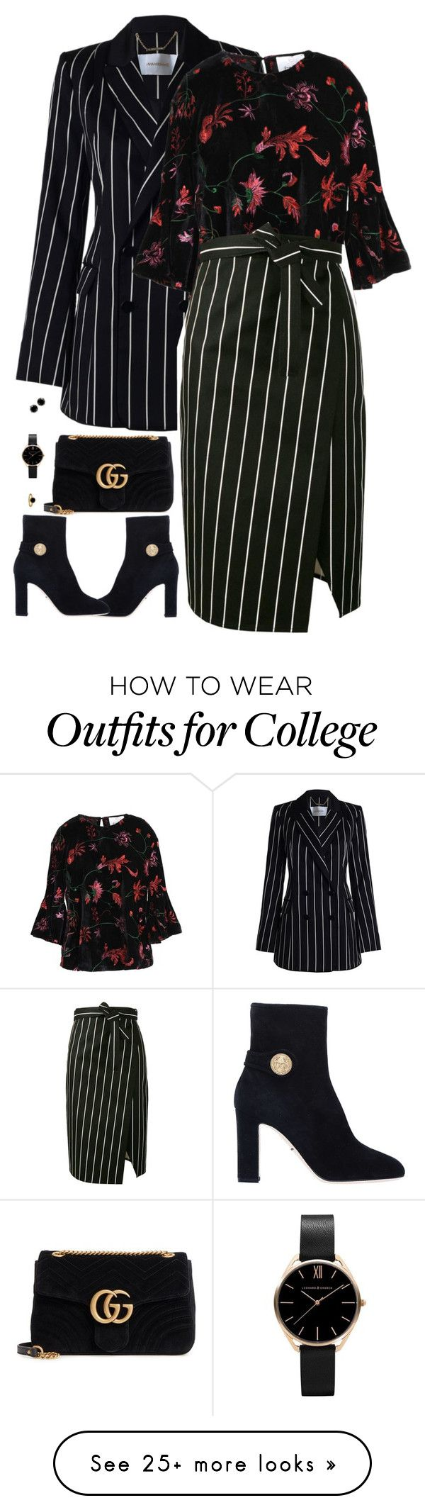 """""""Untitled #10028"""" by miki006 on Polyvore featuring Zimmermann, George J. Love, Balenciaga, Gucci and Dolce&Gabbana"""