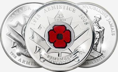 Poppy Quarter - I had one of these on me and gave it away as a souvenir when I visited people in the States. You're not going to find these any place else, I reckon.
