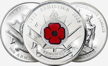 """Canadian """"Poppy"""" Quarter"""