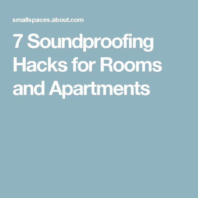 The 25+ best Soundproof apartment ideas on Pinterest | Studio ...