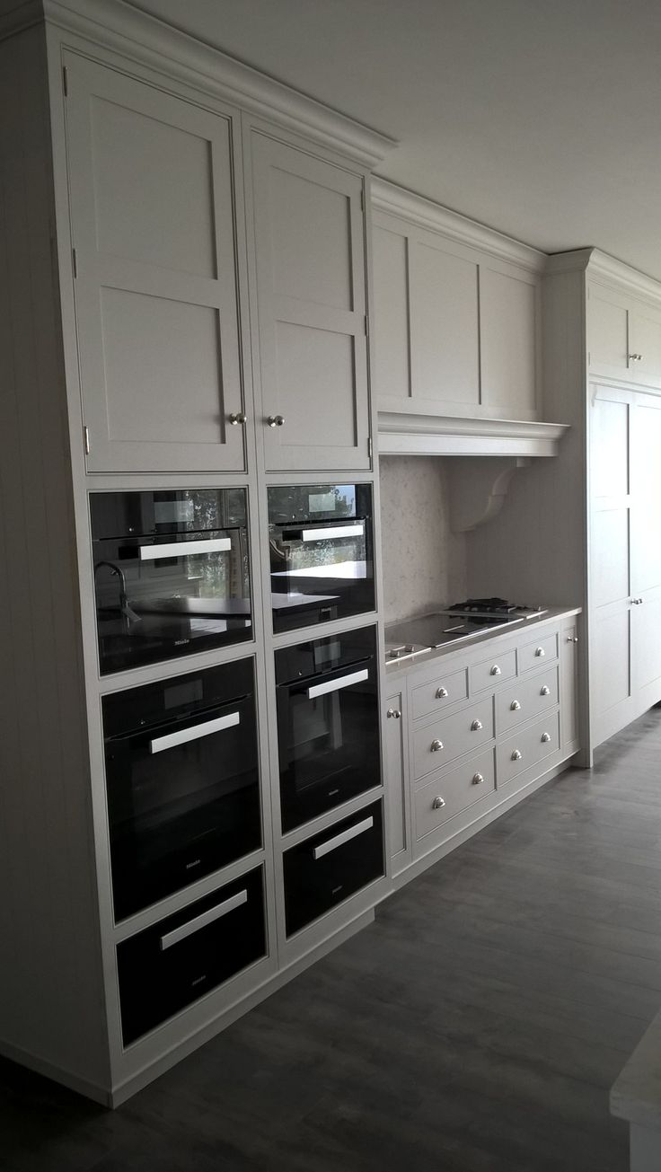 Tom Howley kitchen with Miele appliances and built in  Miele master cool fridge and freezer