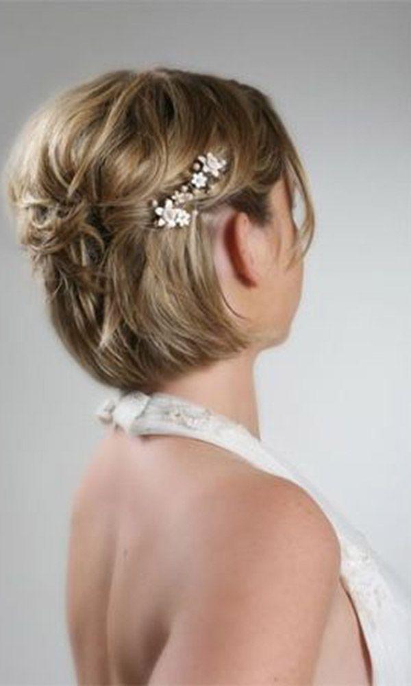 Best 25+ Short bridal hairstyles ideas on Pinterest | Short ...
