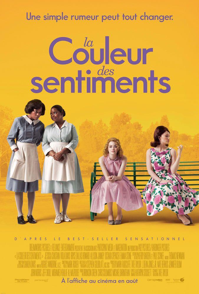 La Couleur Des Sentiments 2011 Film Cinoche Com Movie Posters 2011 Movies About Time Movie