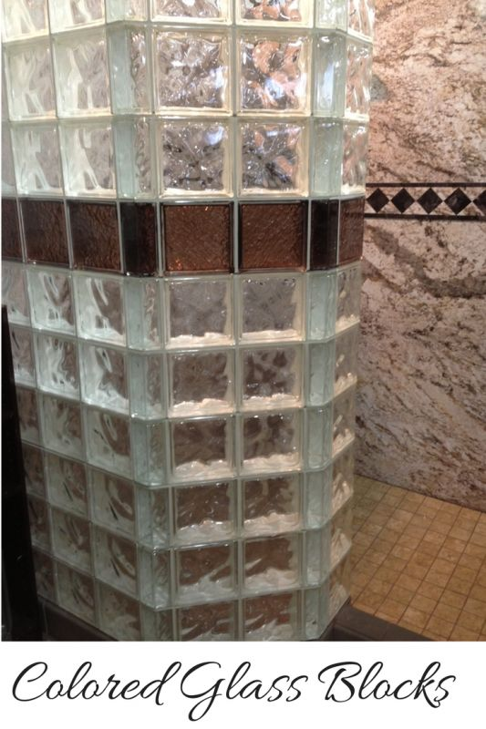 17 best images about glass block colored frosted on for Glass block options