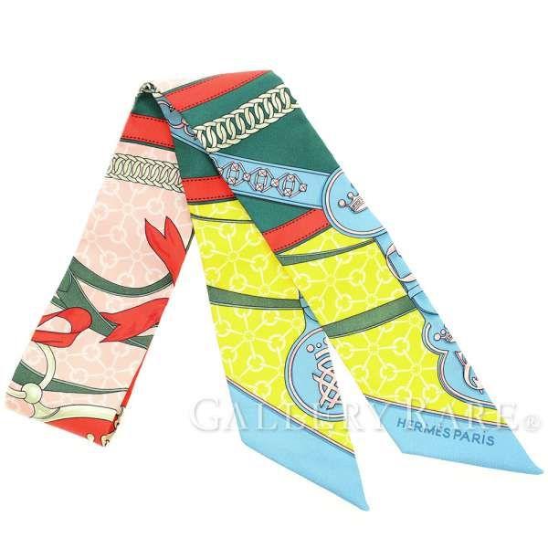 エルメス スカーフ ツイリー シルクツイル 朝の散歩 La Promenade du Matin HERMES シルクスカーフ 2017年春夏コレクション