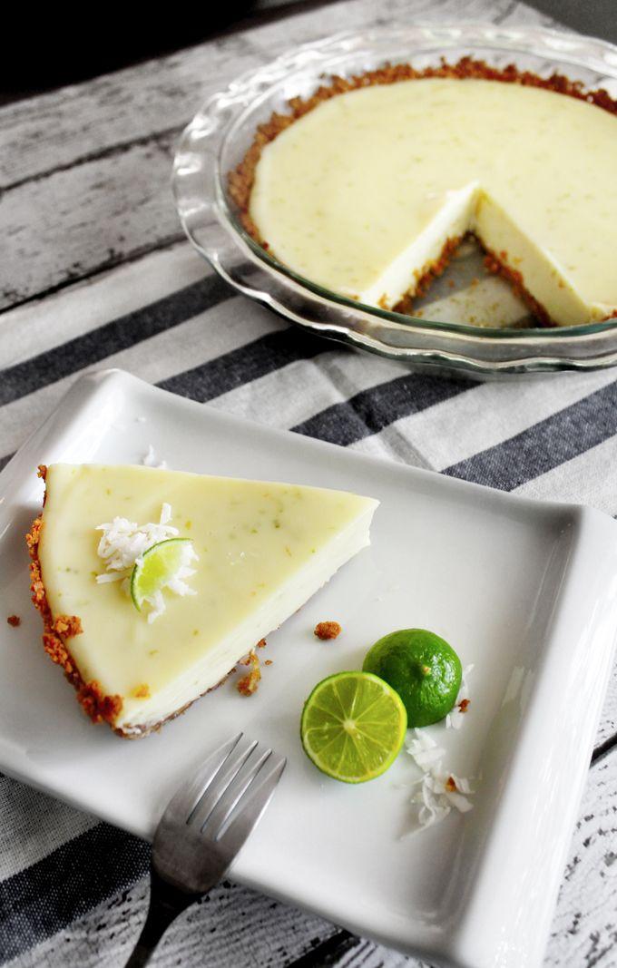 ライムのココナッツタルトパイのレシピ | 海外レシピ専門サイト『My Kitchen』世界の料理レシピが満載