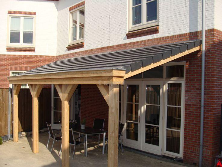 48 combinatie eiken en lariks veranda uitbouw plat dak pinterest verandas - Uitbreiding keuken veranda ...