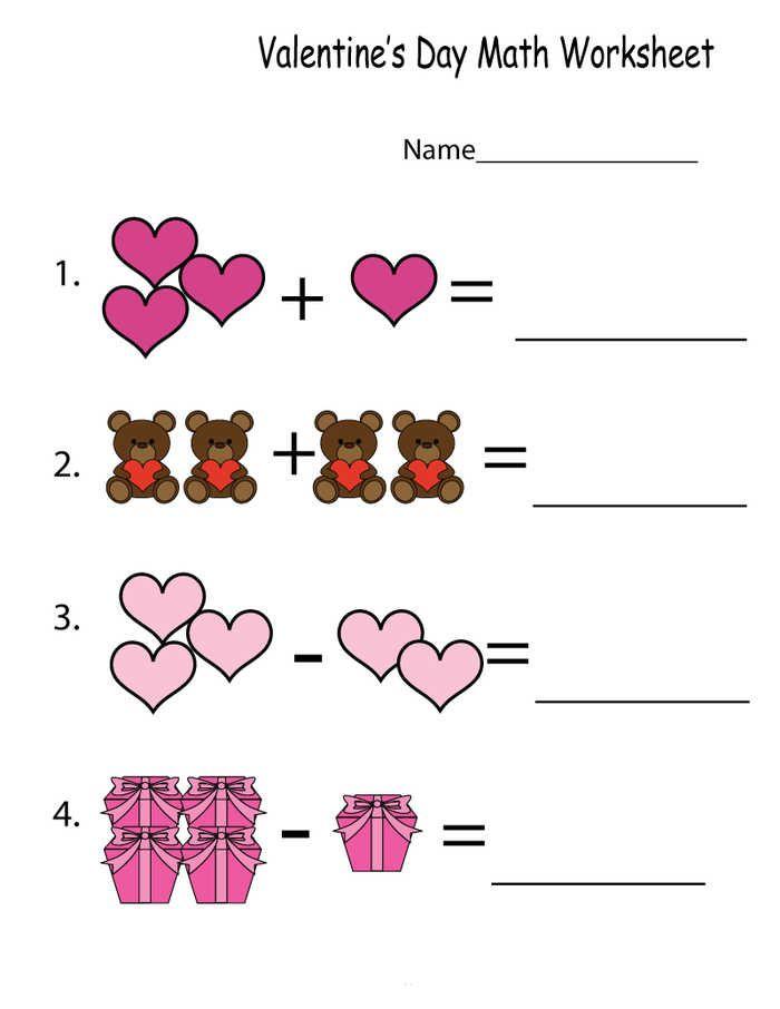 Kindergarten Math Worksheets Printable Pdf Coloringfolder Com Kindergarten Math Worksheets Free Kindergarten Math Worksheets Addition Kindergarten Math Free Valentine worksheet for kindergarten