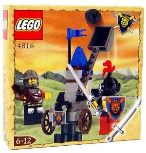 Lego Knights Kingdom Exclusive Chrome Knight Series Set #4816 Knight's Catapult by LEGO. $37.46. Add to your LEGO Knights Kingdom collection. Makes a great gift for any occasion. Includes catapult, 2 minifigures & weaponry. Contains exclusive chrome sword. Perfect toy for imagination play. LEGO encourages children of all ages to use their imagination and teaches them fundamentals of construction and physics. This set includes catapult, 2 minifigures & weaponry. Exclu...