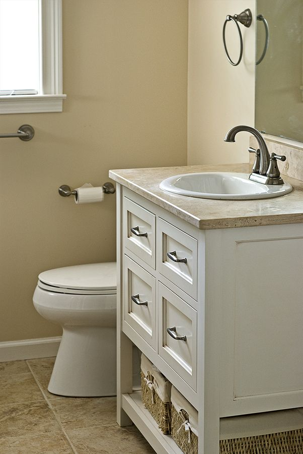 500px / Small Bathroom   Vanity By Danielbuilders