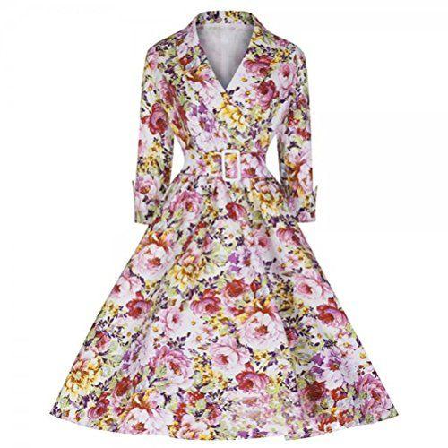 Zxzy Women 1950's Vintage Floral Audrey Hepburn Retro  https://www.amazon.com/gp/product/B016F1Y9UE/ref=as_li_qf_sp_asin_il_tl?ie=UTF8&tag=rockaclothsto-20&camp=1789&creative=9325&linkCode=as2&creativeASIN=B016F1Y9UE&linkId=ab6444645631ca918cc4cd656b5458be