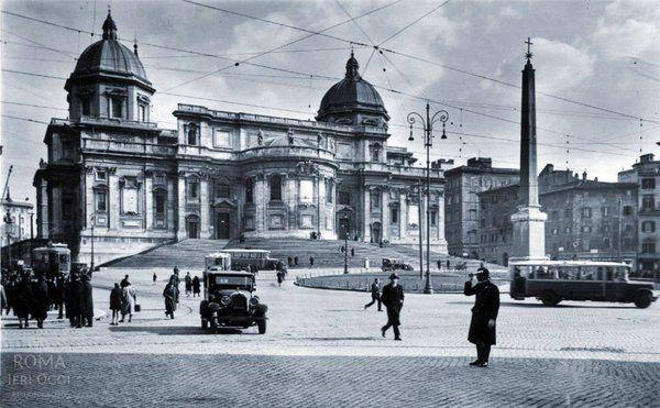 Piazza dell'Esquilino (anni '20/'30)