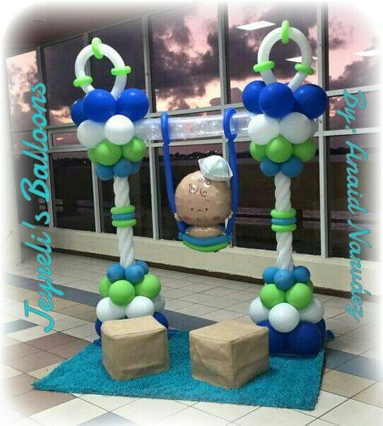 decoracion nautica jeyrelis balloons pinterest
