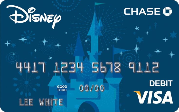 Exclusive Disney Art Featured on New Visa Debit Card « Disney Parks Blog