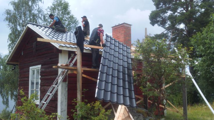 New roof cabin