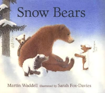"""When three little bears play in the snow, they pretend to be """"snow bears"""" and their mother goes along with the game."""